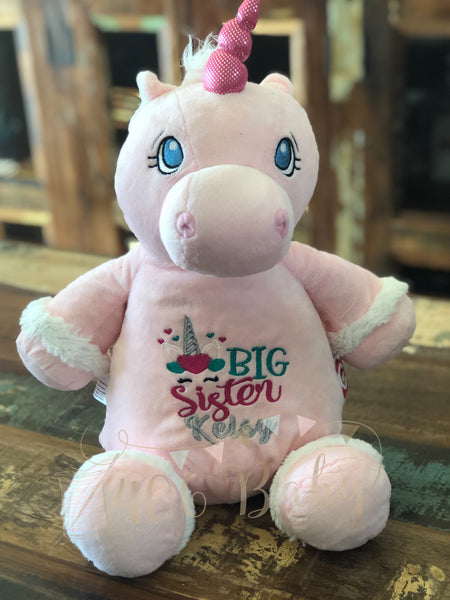 Unicorn Plushie - Starflower