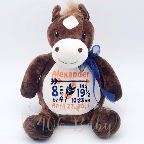 Horse Plushie - Howie