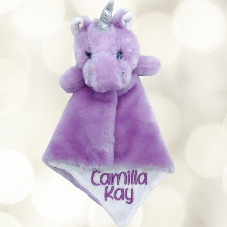 Lilac the Unicorn Lovey