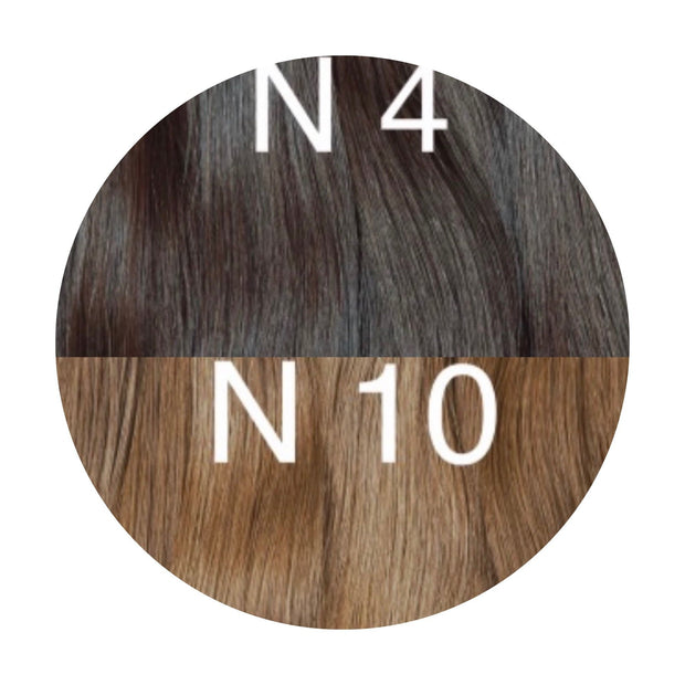 Hot Fusion ombre 4 and 10 Color GVA hair - GVA hair