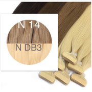 Tapes ombre Color 14 and DB3 GVA hair_Retail price - GVA hair