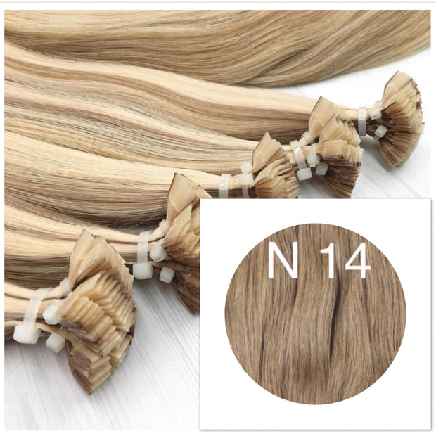 Hot Fusion Colors LIGHT BROWN_Retail price - GVA hair