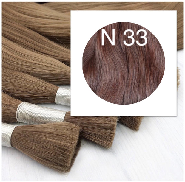 Raw Cut hair Colors RED BROWN 100 grams_Retail price - GVA hair