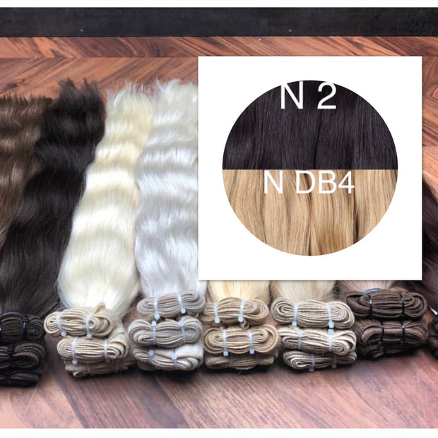 Wefts ombre 2 and DB4 Color GVA hair - GVA hair