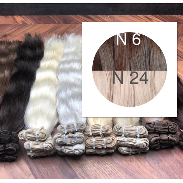 Wefts Colors LIGHT OMBRE GVA hair_Retail price - GVA hair