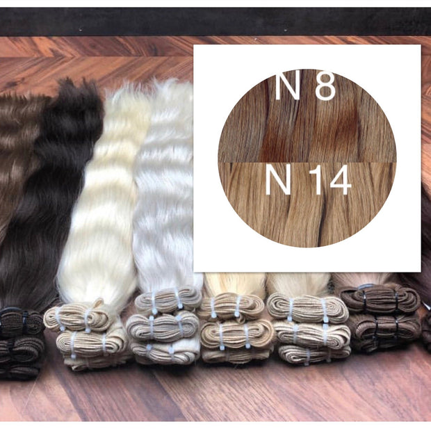 Wefts Colors DARK OMBRE GVA hair_Retail price - GVA hair
