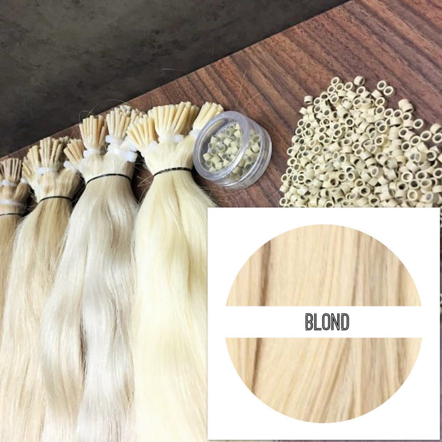 Micro links Colors BLOND_Retail price - GVA hair