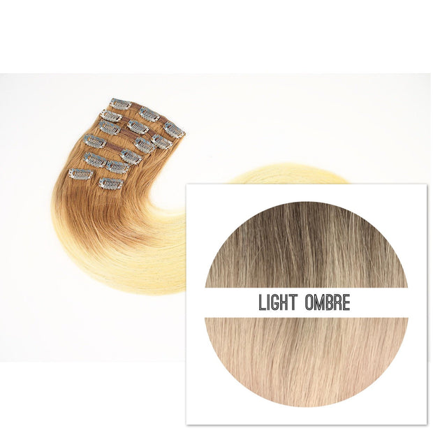 Clips 7 part Colors LIGHT OMBRE - GVA hair