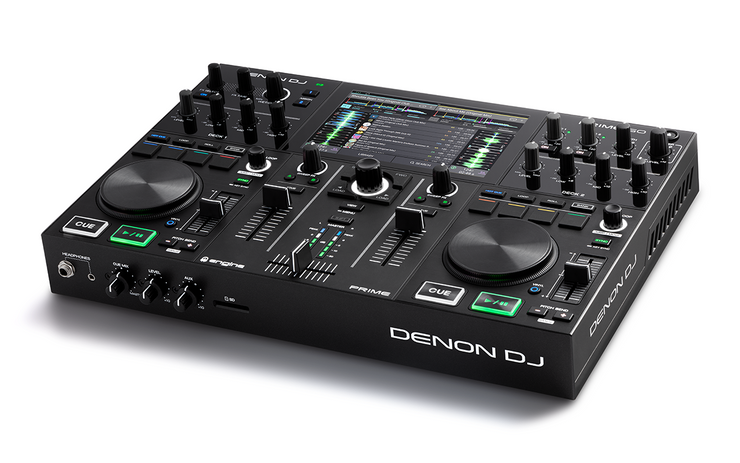 "DENON DJ PRIME GO -2-Deck Rechargeable Smart DJ Console with 7"" Touchscreen"