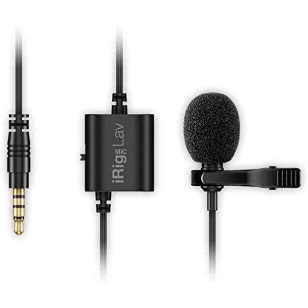 iRig Mic Lav Lavalier Microphone for Mobile Devices