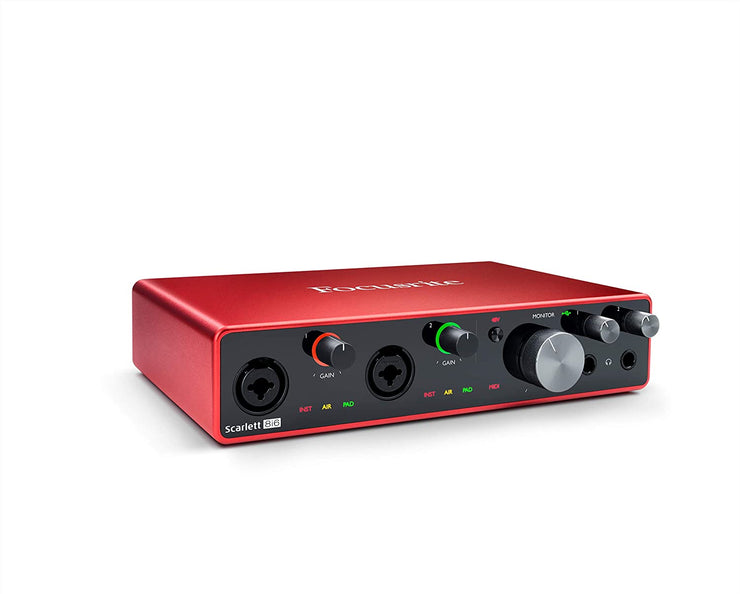 Scarlett 8i6 (3rd Gen) Audio Interface with 2-Mic Pres