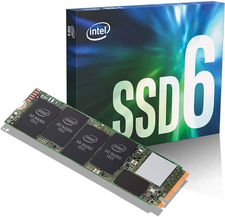 Intel NVMe SSD, M.2 22x80mm 660P Series