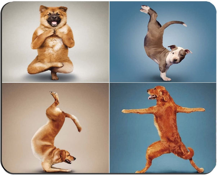 Yoga Dog Mousepad
