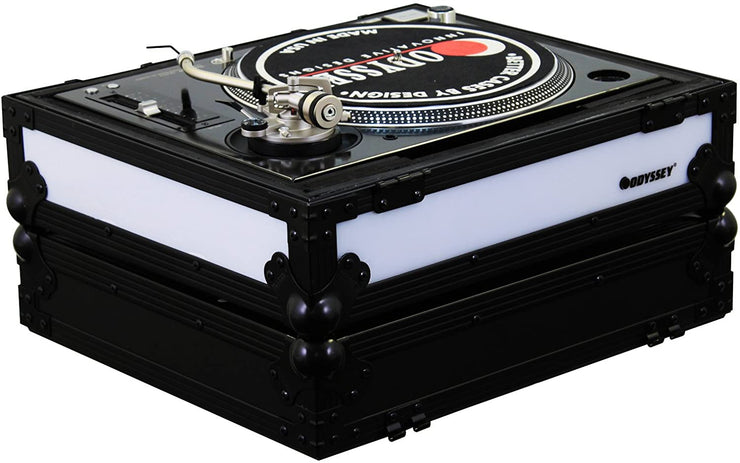Universal Battle Position Turntable Case w/ Left LED (Black)