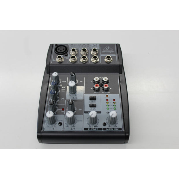Behringer Xenyx 502 Mixer (Used)