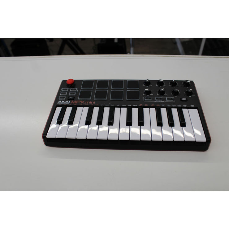 AKAI MPK Mini Mk2 Compact Keyboard and Pad Controller (Used)