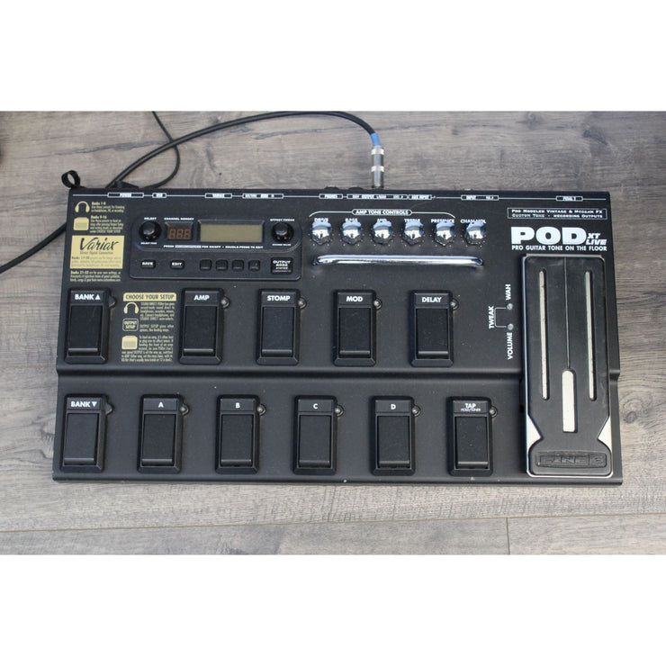 Variax PODXT Live Effects Pedal
