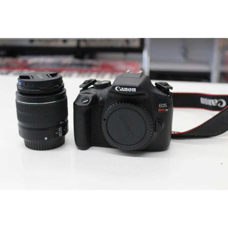 Canon Rebel T6 DSLR Camera (Used)