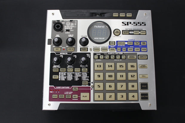 Roland SP-555 Sampler w/ CF Card