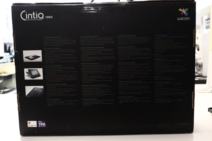 Wacom Cintiq 12WX Interactive Pen Display