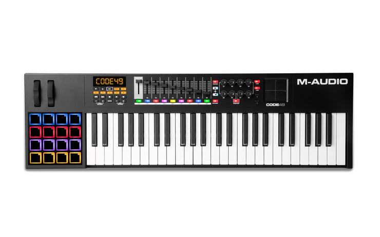 M-Audio Code 49 Black USB MIDI Controller with X/Y Pad
