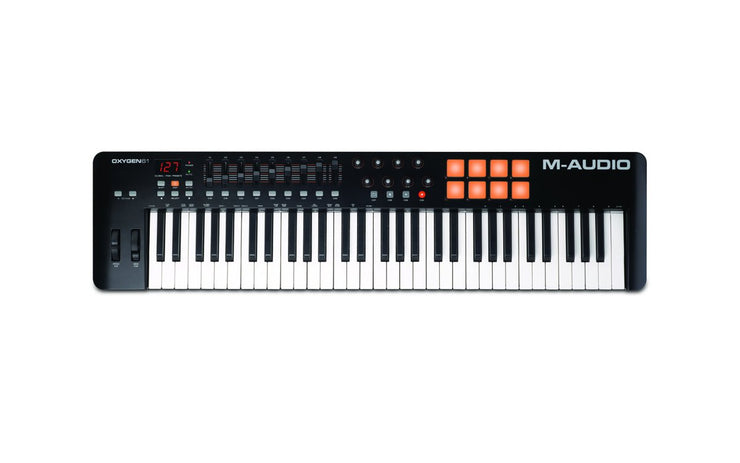 M-Audio Oxygen 61 61-Key USB MIDI Controller with Ignite Software