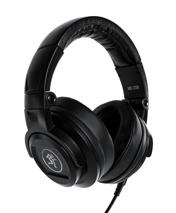 Mackie MC-250 Professional Closed-Back Headphones (Black)