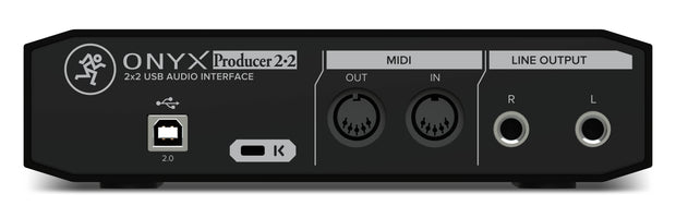Mackie Onyx Producer 2.2 2x2 USB Audio Interface with MIDI