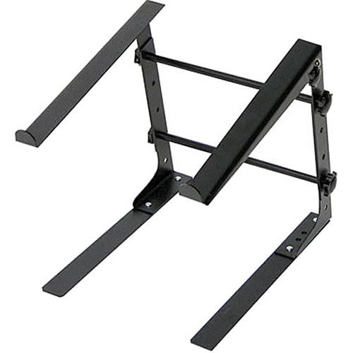 L Stand Standalone Table Top Laptop Stand (Black)