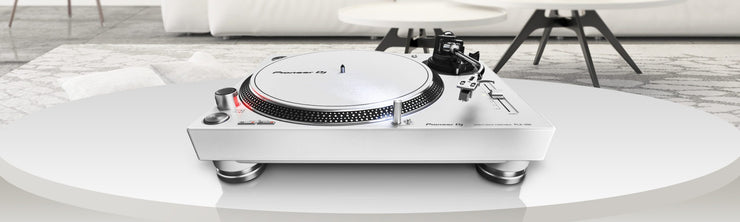 Pioneer DJ PLX-500-W High-Torque, Direct Drive Turntable