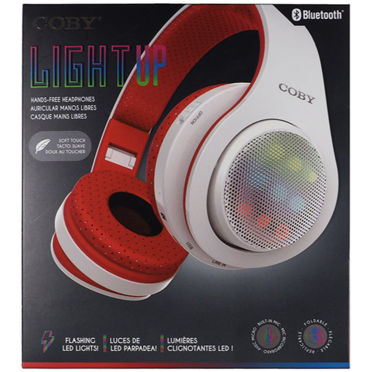 Coby Wireless Lightup Headphones