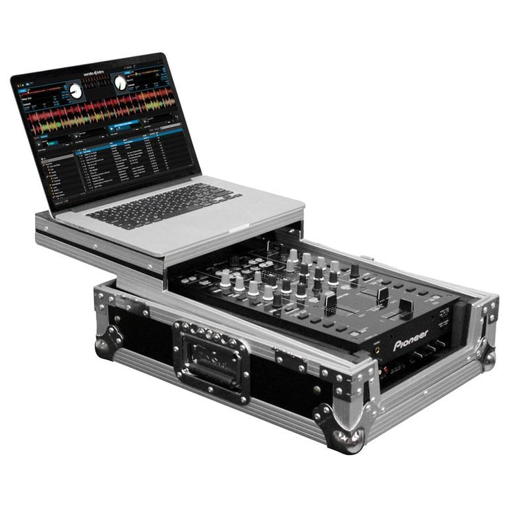 Odyssey 10″ DJ Mixer Case with Glide Laptop Platform
