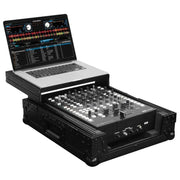 Odyssey 12″ DJ Mixer all black Case with Glide Laptop Platform