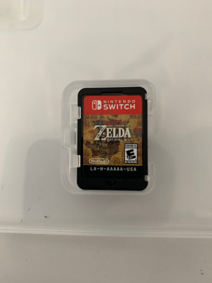 The Legend of Zelda: Breath of the Wild (Switch) (Used - No Cover/game only)