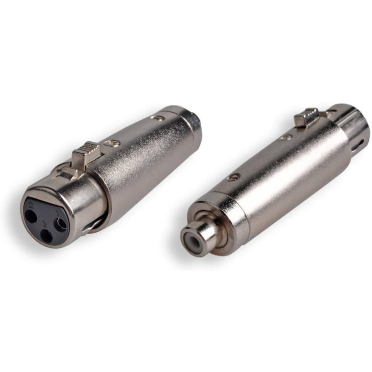 XLR Female to RCA Female Adapter