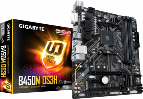 Gigabyte B450M DS3H AM4 motherboard
