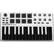 AKAI MPK Mini Mk2 White SE Compact Keyboard and Pad Controller