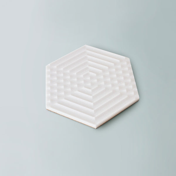 Moiré Trivet, Hexagon