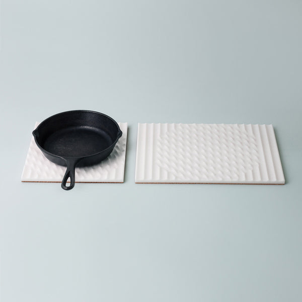 Moiré Trivet, Rectangle