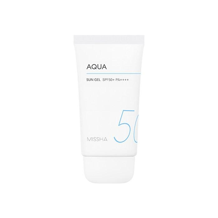 MISSHA all around safe block aqua sun gel spf 50+/ PA+++ - misumicosmeticsuk