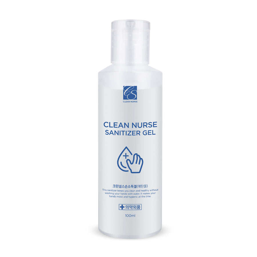 Clean Nurse Antibacterial Moisturising Hand Gel 100ml - misumicosmeticsuk