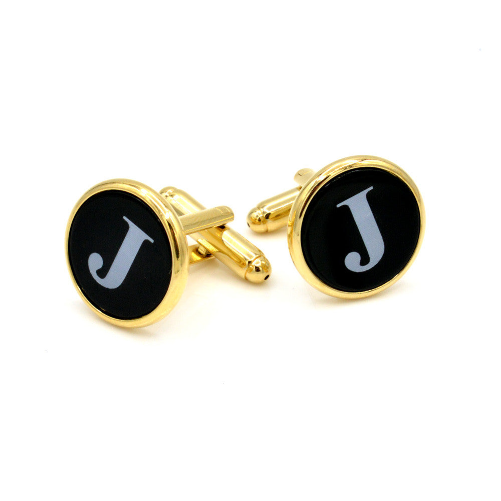 JJ Weston Onyx 25th Infantry Division Cufflinks Made in The USA