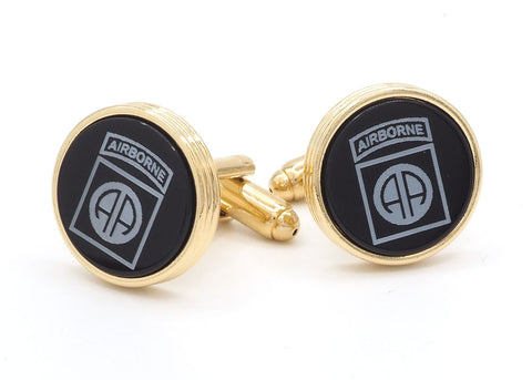 82nd Airborne Insignia Cufflinks