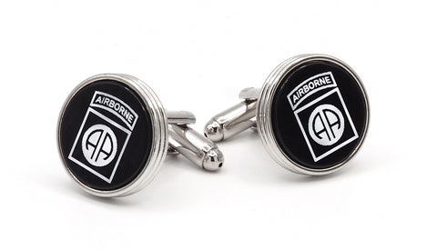 82nd Airborne Emblem Cufflinks