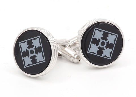 4th Infantry Division Cufflinks