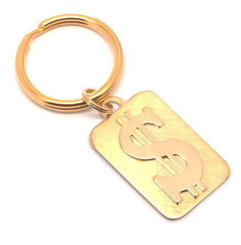 Dollar Sign Key Ring