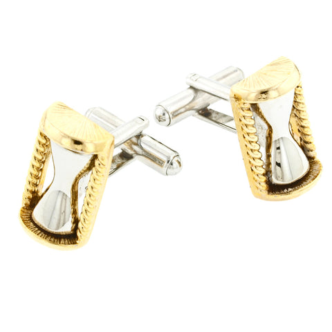 Hour Glass Cufflinks