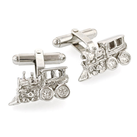 Caboose Train Cufflinks