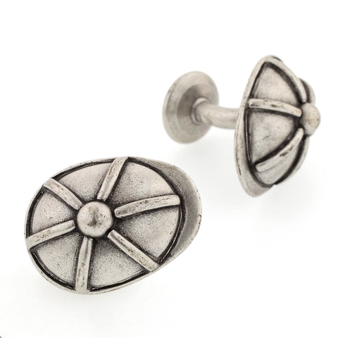 Derby Cap Cufflinks