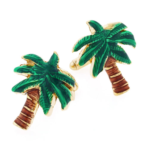Palm Tree Cufflinks